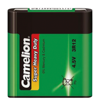 Flachbatterie CAMELION Super Heavy Duty 4,5 V, Typ 3R12