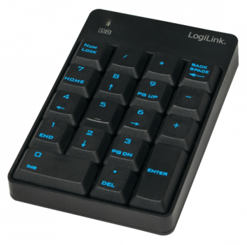 Keypad, kabellos 2,4Ghz, Numblock