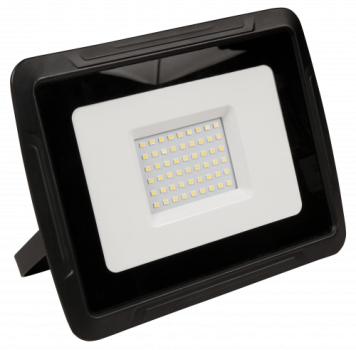 LED-Außenstrahler McShine ''Super-Slim'' 50W, 3500Lumen, 3000K, warmweiß, IP44