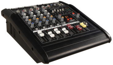 Powermixer HOLLYWOOD ''PM-25'' 5-Kanal, 1500W, DSP, schwarz